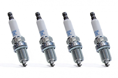 NGK Laser Platinum Spark Plugs- Set of 4