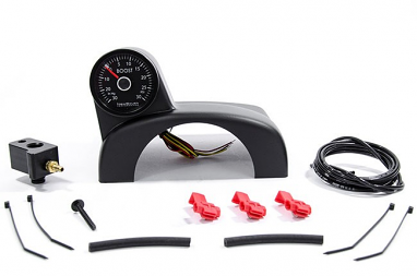NewSouth Gen3 Turbo Boost Gauge Kit White Gauge For MKVI Jetta