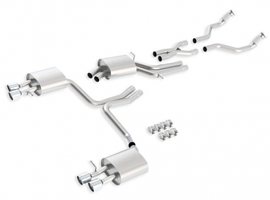 Borla Cat Back Exhaust System For Audi S4 B8