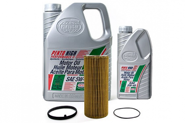 Complete Oil Service Kit: 3.0T, 3.2L