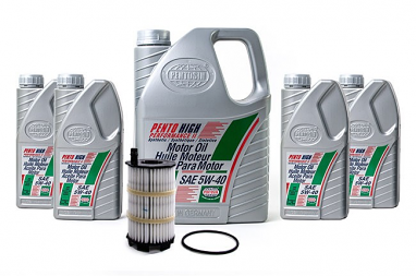 Complete Oil Service Kit: 4.2L FSI
