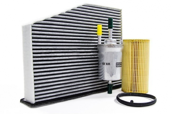Filter Trio Kit (Oil, Fuel, A/C Cabin Filter) For MK5/6 2.0T FSI