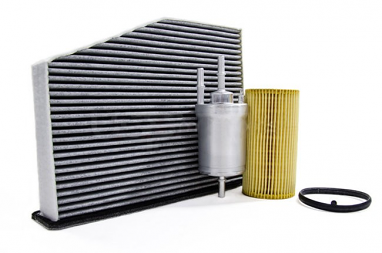 Filter Trio Kit (Oil, Fuel, A/C Cabin Filter) For 2.5L