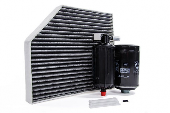 Filter Trio Kit (Oil, Fuel, A/C Cabin Filter) For Audi B8 A4/A5