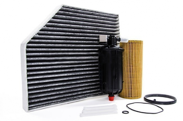 Filter Trio Kit (Oil, Fuel, A/C Cabin Filter) For Audi B8 S4/S5