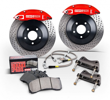 Stoptech Front Big Brake Kit (BBK) ST-41 Calipers 328x25mm Rotors
