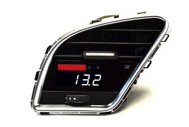 P3 Integrated Vent Digital Multi-Gauge Preinstalled (White Display) For Audi A4/S4/A5/S5 B8