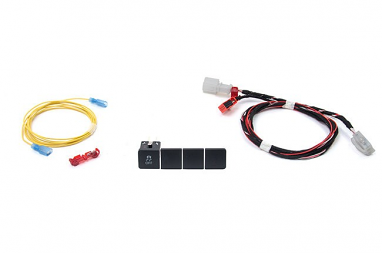 Traction Control Button Kit- Vehicles With Credit Card Holder For MK6 Jetta