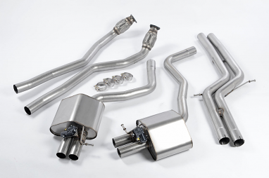 Milltek Non-Resonated Catback Exhaust For Audi RS7