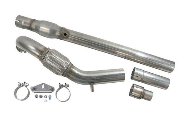 "USP 3"" Stainless Steel Catted Downpipe For Gen3 TSI"