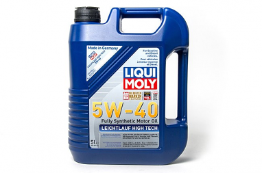 Liqui Moly Leichtlauf High Tech 5W40 Engine Oil (5 liter)