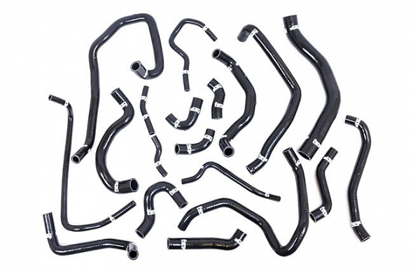Forge Silicone Coolant Hose Kit For MK7 GTI- Black