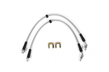 USP Stainless Steel Front Brake Lines For MK4 R32 Caliper Conversion