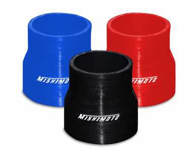 """2"""" to 2.5"""" Silicone Transition Coupler- Black"""