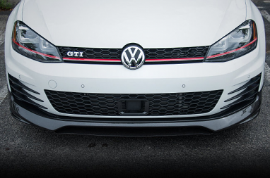 Carbon Fiber Front Lip For MK7 GTI