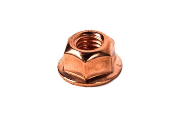 Copper Lock Nut For M8x1.25mm