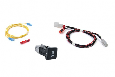 Traction Control Button Kit- Square Button For MK6 Jetta