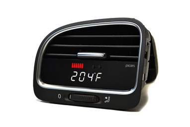 P3 Integrated Vent Digital Multi-Gauge Preinstalled (White Display) For VW MK6 (Right Hand Drive)