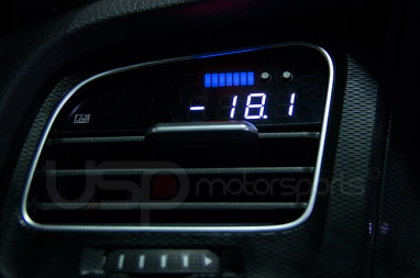 P3 VIDI Vent Gauge Preinstalled For VW MK7 Golf R