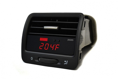 P3 Integrated Vent Digital Multi-Gauge Preinstalled For VW MK5 GTI/Jetta/R32 (Right Hand Drive)