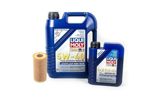 Liqui Moly Complete Oil Service Kit For 3.0T, 3.2L