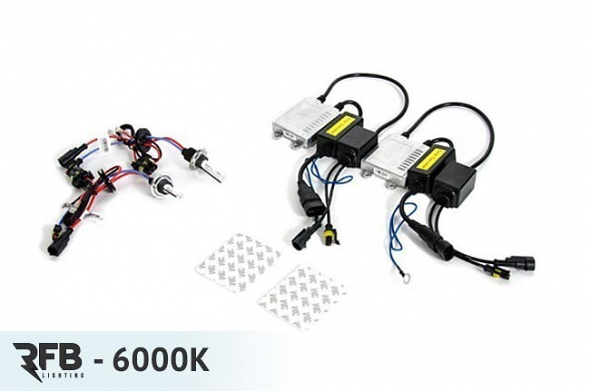 RFB H7 HID Conversion Kit with CAN-BUS Ballasts - 6000K (Diamond White)