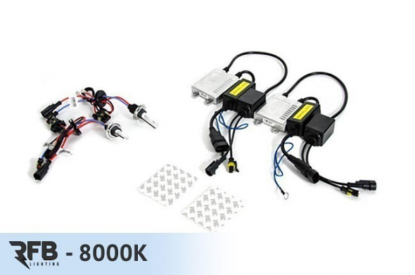 RFB H7 HID Conversion Kit with CAN-BUS Ballasts - 8000K (Iceberg Blue)