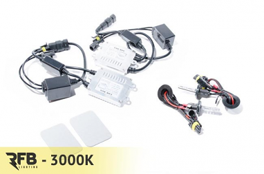 RFB H3 HID Conversion Kit with CAN-BUS Ballasts- 3000K (Rally Yellow)