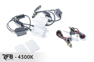 RFB Fog Light HID Kit - 4300K (Pure White) For Porsche 997TT