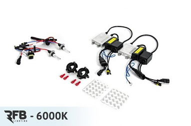 RFB HID Conversion Kit - 6000K (Diamond White) For MK5