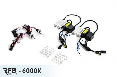 RFB HID Conversion Kit - 6000K (Diamond White) For CC/Passat