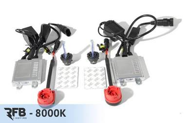 RFB D2S HID Conversion Kit - 8000K (Iceberg Blue)