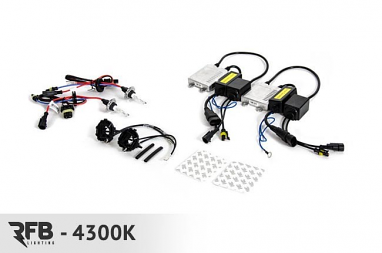 HID Conversion Kit - 4300K (Pure White) For MK7 Golf/GTI