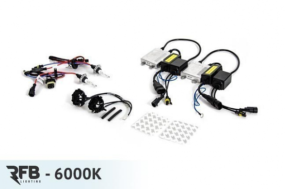 HID Conversion Kit - 6000K (Diamond White) For MK7 Golf/GTI
