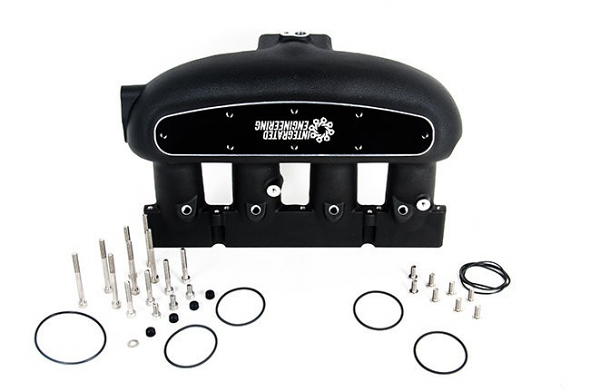 Integrated Engineering Intake Manifold Black For 2.0T FSI/TSI