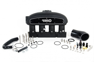 Integrated Engineering Intake Manifold Kit Black For 2.0T FSI