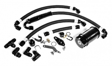 IE Catch Can Kit (Requires IE Valve Cover) For 2.0T FSI