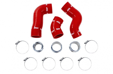 Forge Silicone Boost Hoses Red For 2.0TSI
