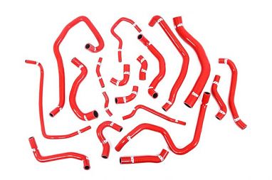 Forge Silicone Coolant Hose Red For Kit MK7 GTI
