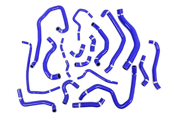 Forge Silicone Coolant Hose Kit Blue For MK7 GTI