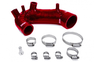 Forge Silicone Turbo Inlet Hose Red For B6 A4 1.8T