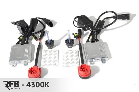 RFB D2S HID Conversion Kit - 4300K (Pure White)