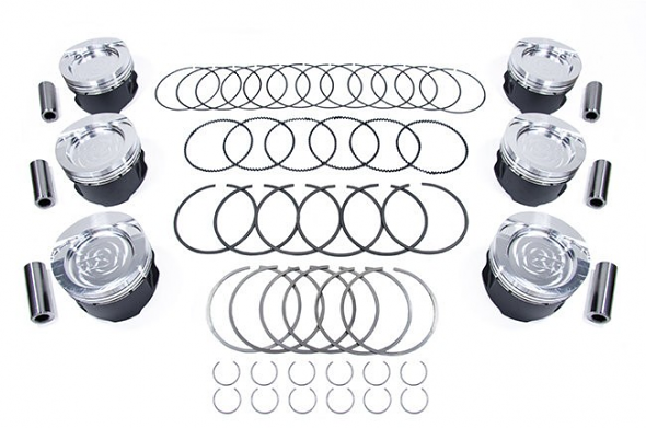 JE Piston Set VR6 3.2L- 84.5mm 8.5:1