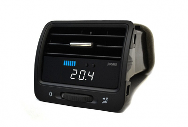 P3 Cars Vent Boost Gauge Preinstalled (Right Hand Drive) For MK5 R32