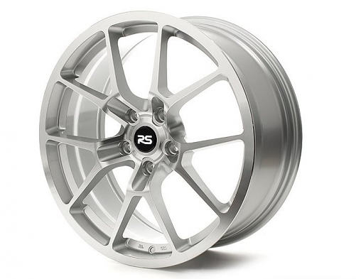 Neuspeed RSe10 Light Weight Wheel: 18x8.5 ET45 Machine Silver