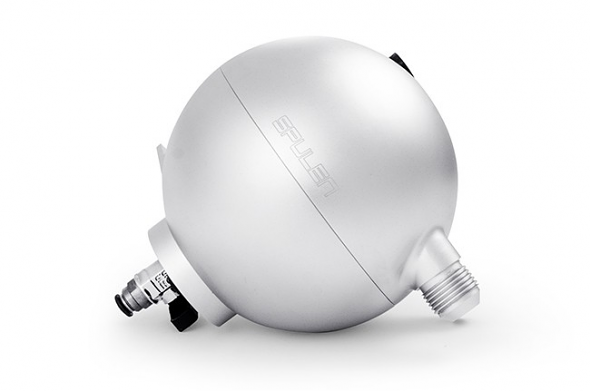 Spulen Billet Spherical Catch Can Silver