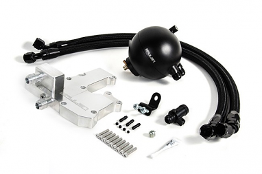 Spulen Billet Spherical Catch Can Kit - V2 (Black) For 2.0TSI