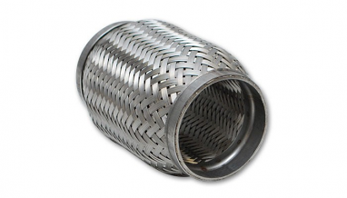 "Flex Coupling w/ Inner Braid Liner 3"" I.D. x 6"" Long"