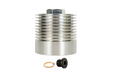 Cool Flow Aluminum Oil Filter Housing- 2.0T FSI and 2.5L