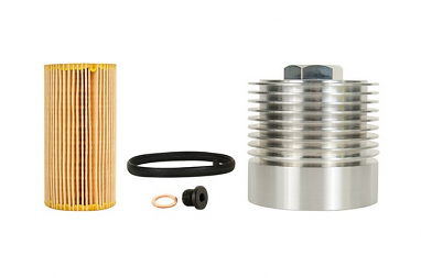 Cool Flow Aluminum Oil Filter Housing Kit - 2.0T FSI and 2.5L